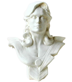 Bust of Marianne for the bi-centenary of the French Revolution by Roger Louis Chavanon