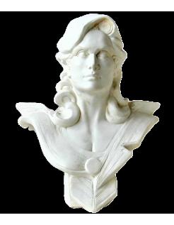 Busto de Marianne del bicentenario de la Revolución Francesa por Roger Louis Chavanon