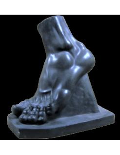 Pie izquierdo de Gladiador por Agasias de Éfeso