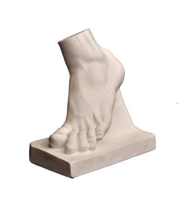Gladiator's Left Foot by Agasias of Ephesus