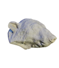 Bear head moulded from an original