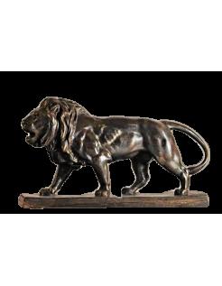 Lion qui marche par Antoine-Louis Barye