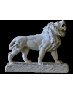 León rugiente por Antoine-Louis Barye