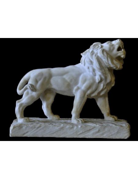 Lion rugissant par Antoine-Louis Barye