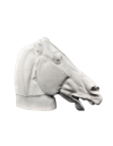 Tête du cheval de Séléné - détail du Parthénon