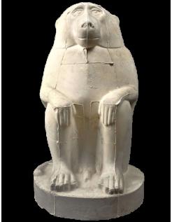 Thot représenté en babouin ou singe cynocéphale - musée du Louvre