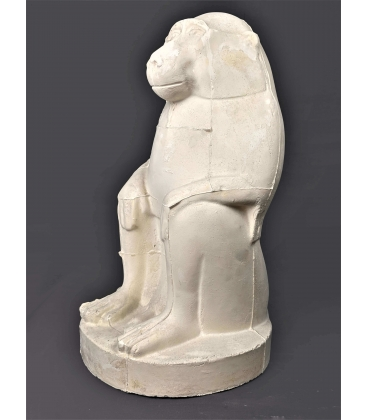 Thoth represented as a baboon or Papio cynocephalus - Louvre museum
