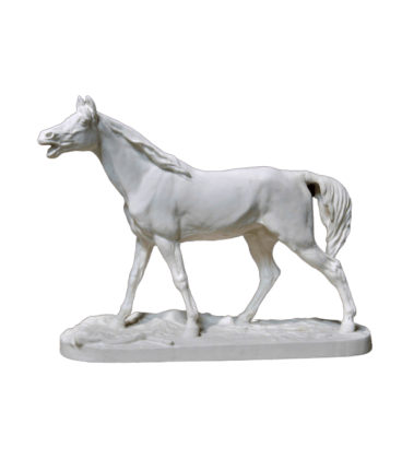 Horse or stallion Barbe by Pierre-Jules Mène