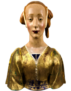Sainte Constance appelée la belle Florentine par Desiderio da Settignano