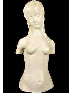 Torse de jeune femme nue dite Torse de Eve