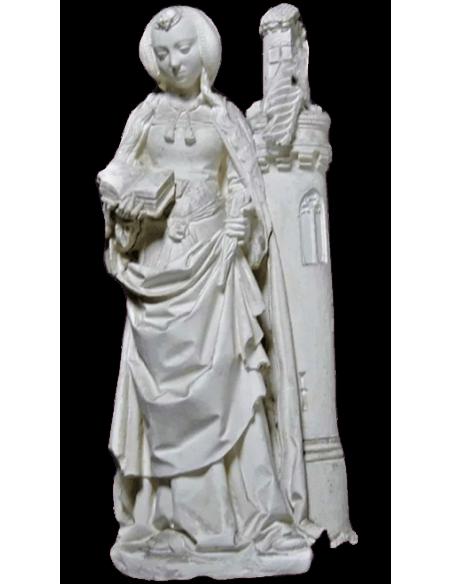 Estatua Santa Bárbara