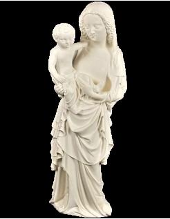 Statue de la Vierge à l'enfant dit Vierge au boulanger par Jean de Liège