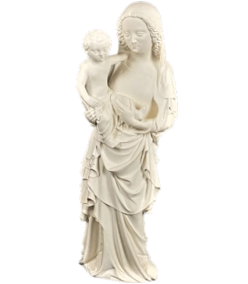Statue of the Virgin and Child by Jean de Liège