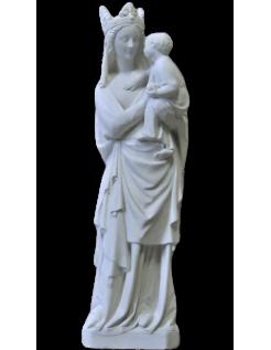 Estatua de la Virgen con el niño