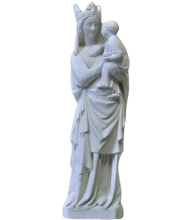 Statue of the Virgin with the child