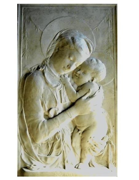 La Vierge à l'enfant d'après Neri di Bicci