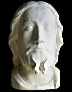 Buste de Jesus dit le « Beau Dieu » cathédrale d'Amiens