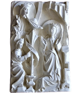 Bas-relief de l'Annonciation