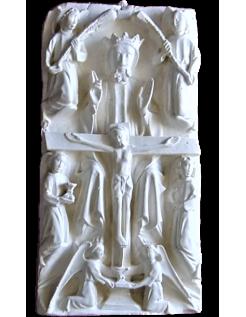 Bas-relief la crucifixion et mort de Jésus-Christ