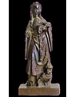 Estatua de Santa Catalina de Alejandría