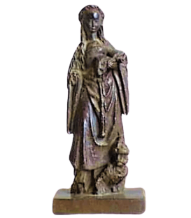 Statue of Saint Catherine of Alexandria