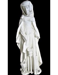 Estatua de Santa Marta Château-Gontier