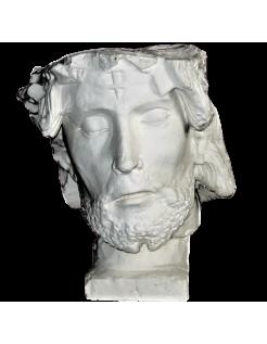 Bust of Jesus Christ church Saint Sauveur of Beauvais