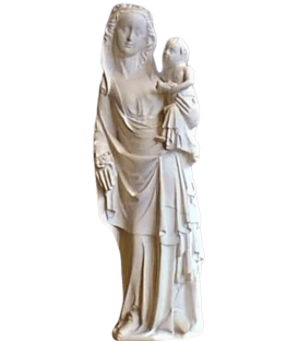 Statue of the Virgin Mary with Child - Cathedral of Reims