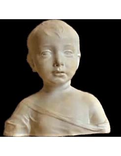 Buste de l'enfant Jésus Christ d'après Desiderio da Settignano