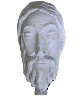 Bust of Jesus Christ - Cathedral of Chartres