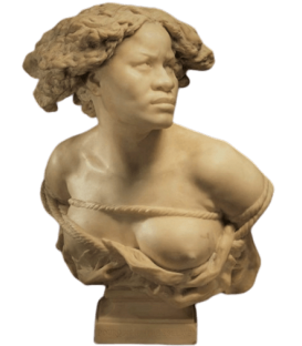 Bust of the Negress by Jean-Baptiste Carpeaux
