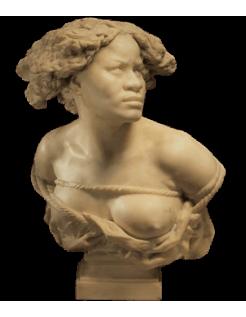 Buste de la Négresse captive par Jean-Baptiste Carpeaux