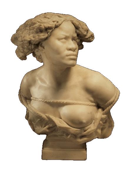 Bust of the Negress by Jean-Baptiste Carpeaux