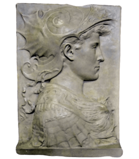 Bas relief of Saint George by Donatello - Bargello Museum