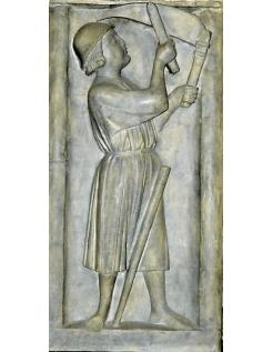 Bas relief le faucheur - Cathédrale Notre dame de Paris