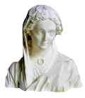 Bust of the Virgin of the Visitation - Reims Cathedral