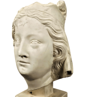 Bust of the Virgin Mary - Cathedral of Notre Dame de Paris
