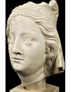 Busto de la Virgen María - Catedral de Notre Dame de Paris
