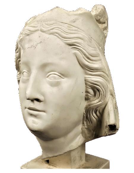 Buste de la vierge Marie - Cathédrale Notre Dame de Paris
