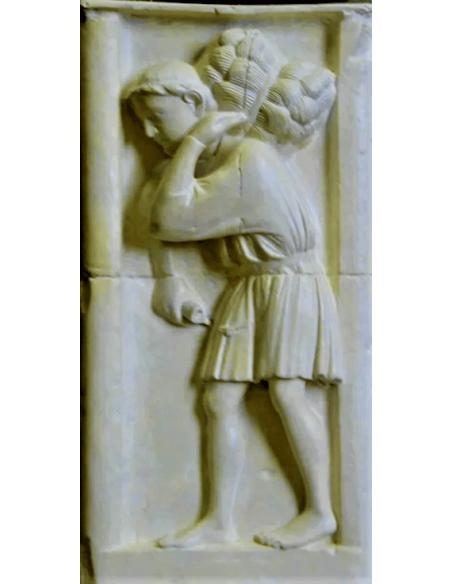 Bajo relieve el cosechador - Catedral de Notre dame de Paris