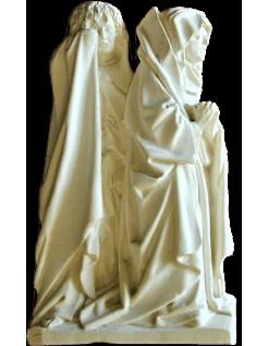 Estatua de monjes llorones - Catedral de Amberes