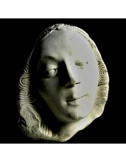 Busto de la Virgen de Moissac