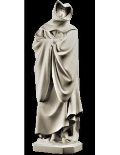 Statue de moine pleurant de Dijon n°22 par Claus Suter - Tombeau de Philippe le Hardi