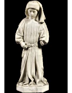 Estatua monje llorón de Dijon conocida como n°73 - Tumba de Felipe el Atrevido