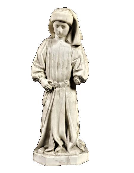Estatua de Llorón n°66 por Juan de la Huerta - Tumba de Juan sin Miedo