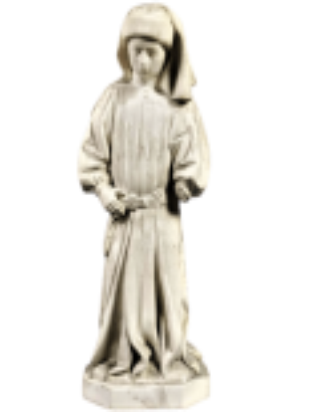 Mourner Statue of Dijon n°66 by Jean de la Huerta - Tomb of John the Fearless