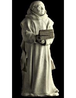 Estatua de Llorón n°9 (Cartujo) por Claus Suter - Tumba de Felipe el Atrevido