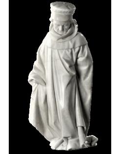 Estatua de Llorón n°71 por Juan de la Huerta - Tumba de Juan sin Miedo
