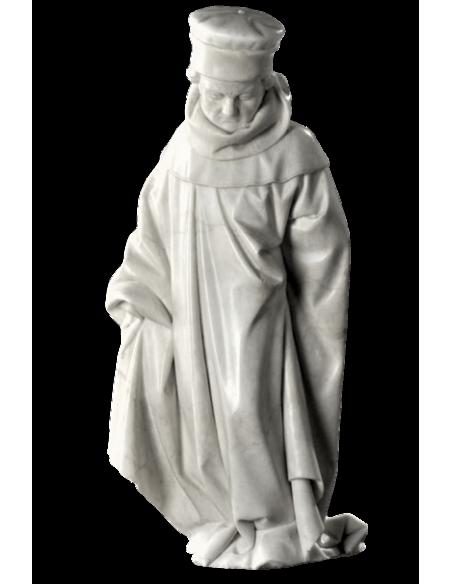 Statue de pleurant de Dijon n°71 par Jean de la Huerta - Tombeau de Jean sans Peur