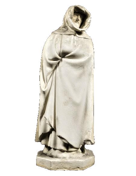 Estatua de Llorón n°37 por Juan de la Huerta - Tumba de Juan sin Miedo